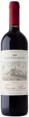 Вино красное полусухое «Castelsina Toscana Rosso» 2016 г.