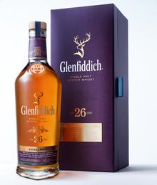 Виски шотландский «Glenfiddich Excellence 26 Years Old» в подарочной упаковке