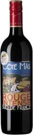 Вино красное сухое «Cote Mas Rouge Intense Pays D'Oc» 2017 г.