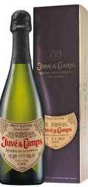 Вино игристое белое экстра брют «Cava Reserva De La Familia» 2015 г. в подарочной упаковке