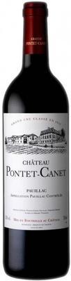 Вино красное сухое «Chateau Pontet-Canet Pauillac  5-me Grand Cru Classe» 1990 г.