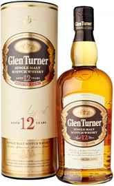 Виски шотландский «Glen Turner 12 Years Old» в тубе