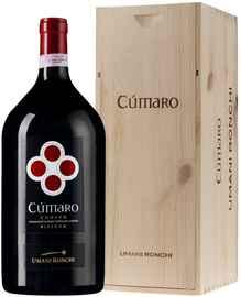 Вино красное сухое «Cumaro Conero Riserva» 2014 г. в деревянной коробке