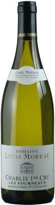 Вино белое сухое «Domaine Louis Moreau Chablis Premier Cru Les Fourneaux» 2017 г.