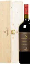 Вино красное сухое «Tasca d Almerita Rosso del Conte» 2014 г. в деревянной коробке