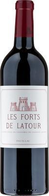 Вино красное сухое «Les Forts De Latour Pauillac» 2012 г.