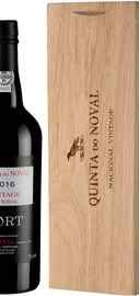 Портвейн сладкий «Quinta do Noval Nacional Vintage Port» 2016 г. в деревянной коробке
