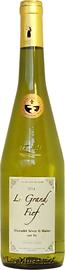 Вино белое сухое «Huchet Le Grand Fief vieille vigne Muscadet Sevre et Maine sur lie» 2017 г.