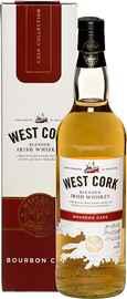 Виски ирландский «West Cork Bourbon Cask» в подарочной упаковке