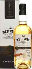 Виски ирландский «West Cork Cask Strength» в подарочной упаковке