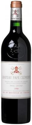 Вино красное сухое «Chateau Pape-Clement Pessac-Leognan Grand Cru Classe de Graves » 1988 г.