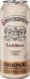 Пиво «Veltins Grevensteiner Original» в жестяной банке