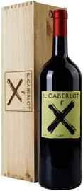 Вино красное сухое «Il Caberlot Toscana» 2013 г. в деревянной коробке