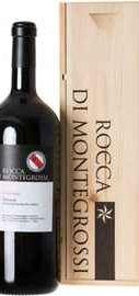 Вино красное сухое «Rocca di Montegross Geremia» 2014 г. в деревянной подарочной упаковке