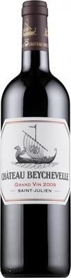 Вино красное сухое «Chateau Beychevelle Saint-Julien 4-me Grand Cru» 2009 г.