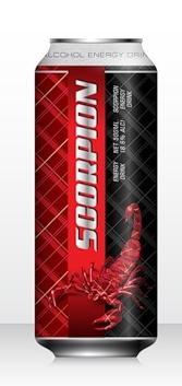 Напиток слабоалкогольный тонизирующий «Scorpion»