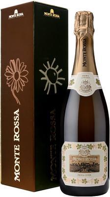 Вино игристое белое брют «Monte Rossa Prima Cuvee, 1.5 л» в подарочной упаковке