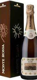 Вино игристое белое брют «Monte Rossa Prima Cuvee» в подарочной упаковке
