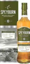 Виски шотландский «Speyburn 10 years» в подарочной упаковке