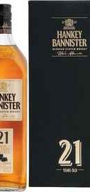 Виски шотландский «Hankey Bannister 21 Years Old» в подарочной упаковке