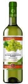 Вино столовое белое полусладкое «Белый Кишмиш »