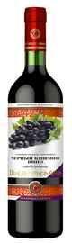 Вино столовое красное полусладкое «Черный Кишмиш»