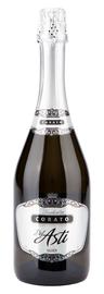 Напиток винный газированный белый полусладкий «Corato Del Asti Silver»