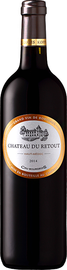 Вино красное сухое «Chateau du Retout Cru Bourgeois» 2014 г.