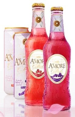 Коктейль «Amore Champange-Strawberry, 0.33 л»