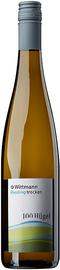 Вино белое сухое «Rheinhessen Wittmann 100 Hugel Riesling trocken» 2018 г.