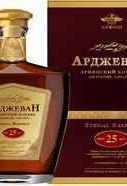 Коньяк армянский «Арджеван Особый Резерв 25-летний» в подарочной упаковке