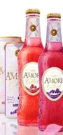 Напиток слабоалкогольный газированный ароматизированный «Amore Champange-Blackberry»