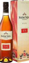 Коньяк французский «Maxime Trijol VS» в подарочной упаковке
