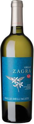 Вино белое сухое «Valle dell'Acate Zagra Grillo» 2017 г.