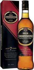 Виски шотландский «High Commissioner 7 Years Old» в подарочной упаковке