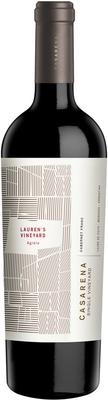 Вино красное сухое «Casarena Single Vineyard Lauren's Agrelo Cabernet Franc» 2016 г.