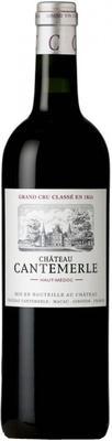 Вино красное сухое «Chateau Cantemerle Grand Cru Haut-Medoc» 2014 г.