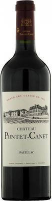 Вино красное сухое «Chateau Pontet Canet Grand Cru Classe» 2013 г.