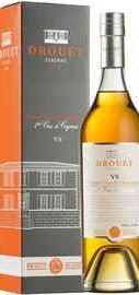 Коньяк французский «Drouet VS Cognac Grande Champagne» в подарочной упаковке