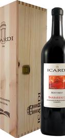 Вино красное сухое «Montubert Barbaresco» 2004 г. в подарочной упаковке