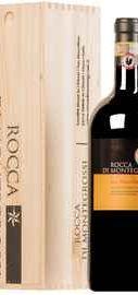 Вино красное сухое «Rocca Di Montegrossi Vigneto San Marcellino Gran Selezione Chianti Classico» 2013 г. в деревянной подарочной упаковке