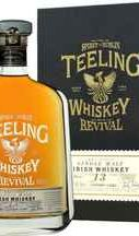 Виски ирландский «Teeling Single Malt Irish Whiskey 12 Years The Revival » в подарочной упаковке