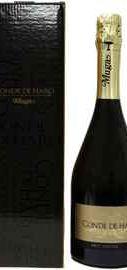 Вино игристое белое брют «Muga Cava Conde de Haro Brut» в подарочной упаковке