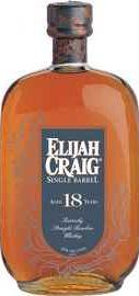 Виски американский «Elijah Craig Single Barrel 18 Years»