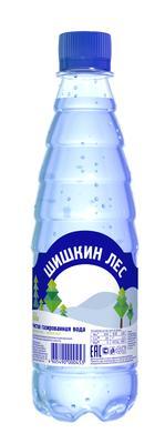 Вода газированная «Шишкин Лес, 0.4 л»