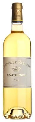 Вино белое сладкое «Les Carmes De Rieussec Sauternes» 2008 г.