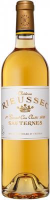 Вино белое сладкое «Chateau Rieussec» 2013 г.
