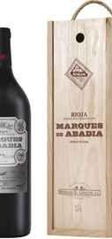 Вино красное сухое «Marques De Abadia Crianza» 2015 г., в деревянной подарочной упаковке
