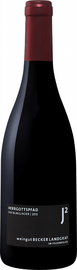 Вино красное сухое «Spatburgunder Herrgottspfad Rheinhessen Weingut Becker Landgraf» 2013 г.