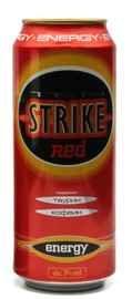 Напиток слабоалкогольный тонизирующий «Tenstrike Energy Red»